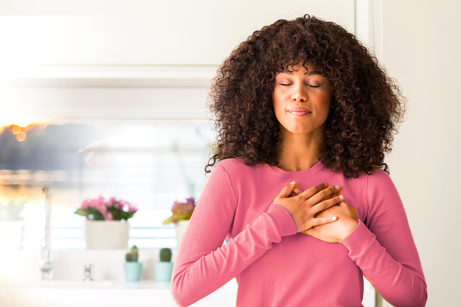 Acalme o corpo e a mente com uma prática de respiração